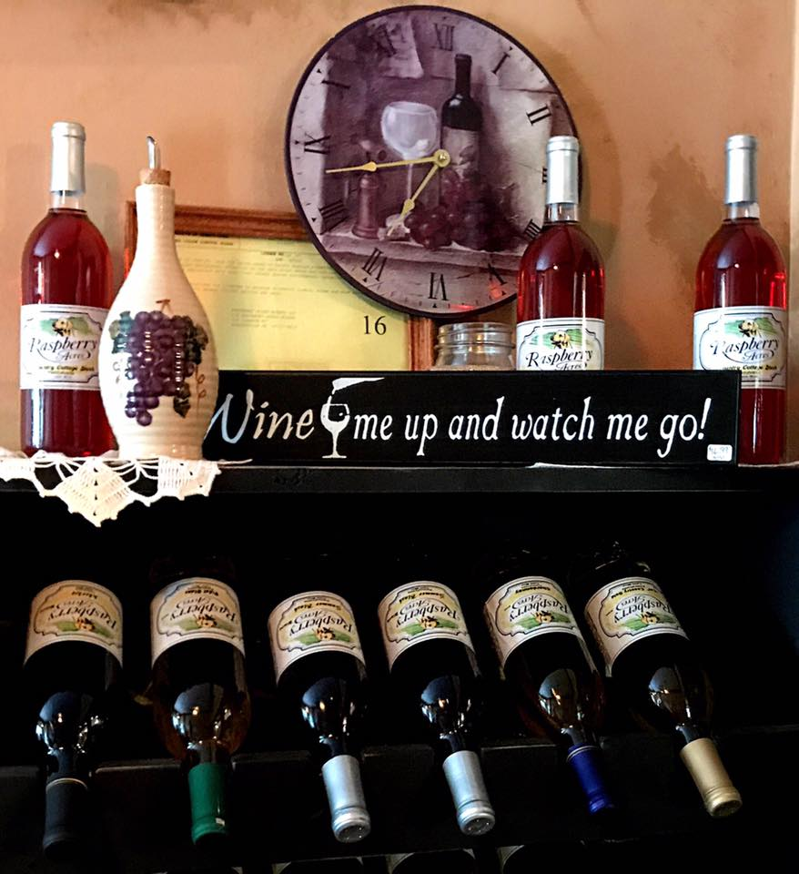 Winery-wine-rack